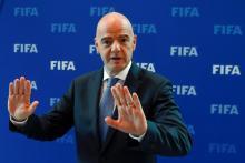 رئيس الاتحاد الدولي لكرة القدم، السويسري جياني إنفانتينو - (المصدر: الإنترنت)