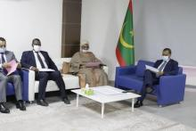 اجتماع اللجنة مع وزير التجهيز (المصدر: ffrim)